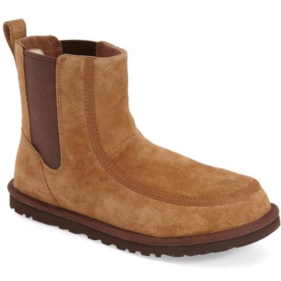 0d61da67a5a Men's Ugg bloke II Chelsea suede boot